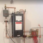 tankless water heater install